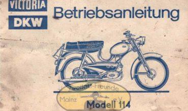 Zweirad Union Victoria DKW Modell 114