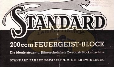 Standard 200ccm Feuergeister – Block
