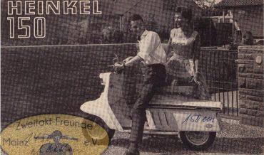 Heinkel Tourist 101 A0 – 150ccm Zweitakt