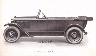 Adler 6/25 PS