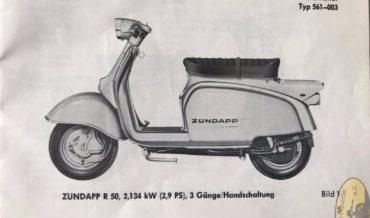 Zündapp R 50 + RS 50