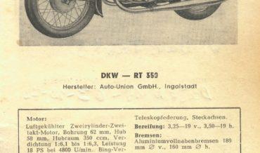 DKW RT 350