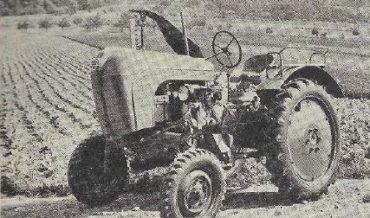 Allgaier Diesel-Schlepper AP 17