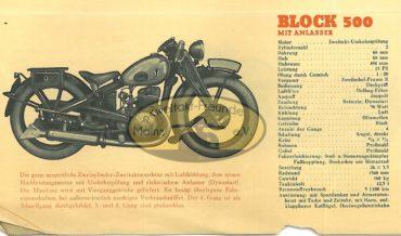 DKW Block 500