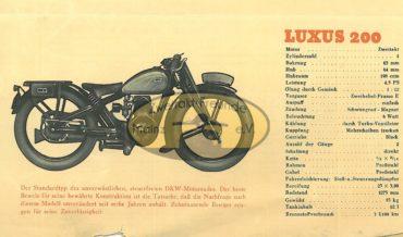 DKW Luxus 200