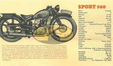 DKW Sport 500
