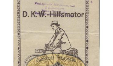 DKW Hilfsmotor 1921 & 1922