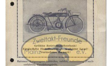 DKW Sportmodell 1922 (Leichtmotorrad)