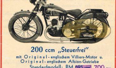 """FN 200 """"Steuerfrei"""" (1932)"""