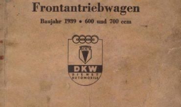 Auto Union DKW Frontantriebwagen F 8