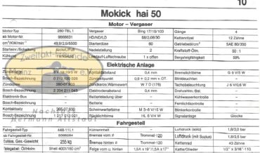 Zündapp Mokick Hai 50