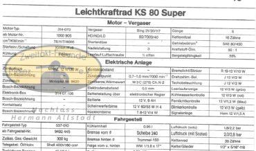 Zündapp Leichtkraftrad KS 80 (KS 80 Super, KS 80 Touring)