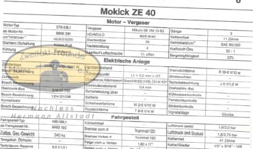 Zündapp Mokick ZE 40