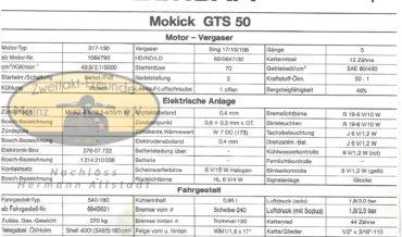 Zündapp Mokick GTS 50