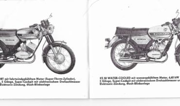 Zündapp Mokick KS 50 (Cross, Super Sport, Water-Cooled)