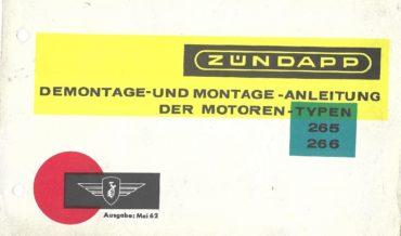 Zündapp Super Combinette 428 (Motor 265)