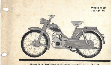 Zündapp M 50 (Motor 434)