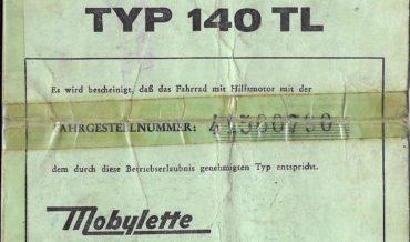 Motobecane Mobylette Typ 140 TL