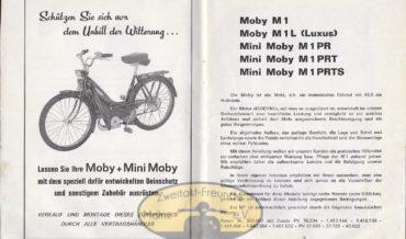 Motobecane Moby M1 (M1L, M1PR, M1PRT, M1PRTS)