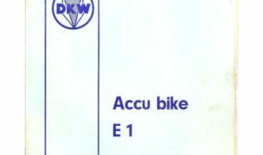 Hercules Accu Bike E1