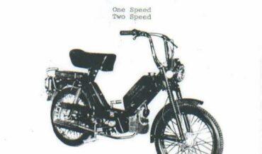 Jawa Moped Model 210