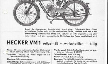 Hecker VM 1 (98ccm – Sachs)